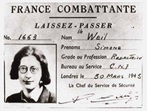 Le riflessioni di Weil sullalibertà