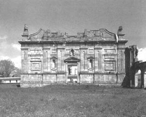 Certosa di Serra San Bruno. Parte superstite della chiesa, facciata