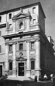 Roma, chiesa di S. Maria in Trivio (J. Del Duca).