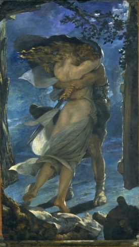 L'abbraccio di Siegmund e Sieglinde
