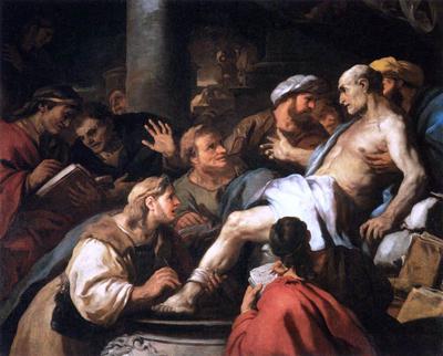 Luca Giordano, La morte di Seneca