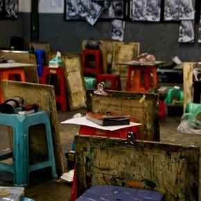 Riflessioni sulla riproducibilità delle opere d'arte inCina