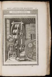 La ruota dei libri di Agostino Ramelli.