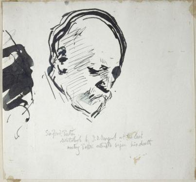 John Singer Sargent, Sketch of Sir Frederick Alexis Eaton
