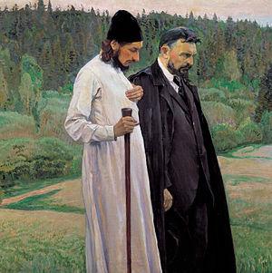 Florenskij e Bulgakov, 1917