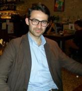Luca Barbirati presso la trattoria Alla Cerva (Vittorio Veneto, Treviso - Maggio 2014) (1)