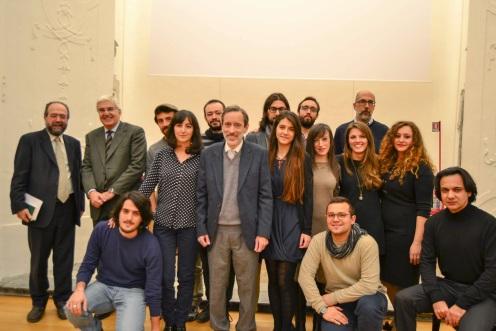 I membri fondatori del Centro di poesia