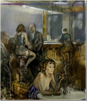 Alberto Sughi, Il grande bar