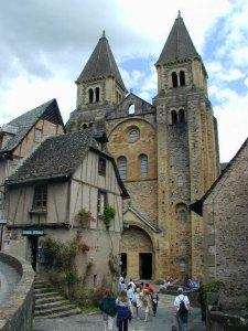 Chiesa di Santa Fe di Conques (fonte: rete)