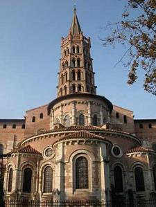 Chiesa di Saint-Sernin di Tolosa (fonte: rete)