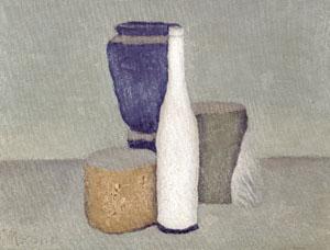 Morandi, Natura morta, olio su tela, 1960.