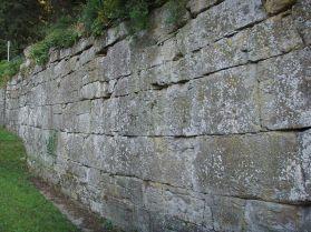 Le mura etrusche di Fiesole. Fonte: rete