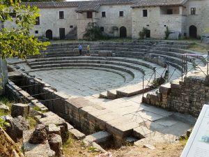 Il teatro di Saepinum. Fonte: rete