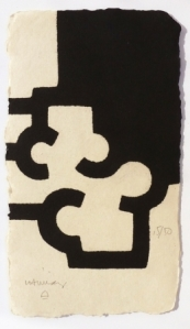 Incisione di Eduardo Chillida